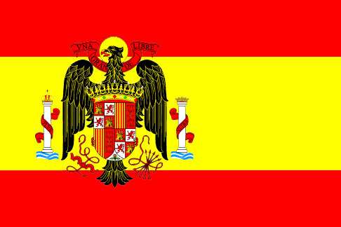 Franco Spanish Flag